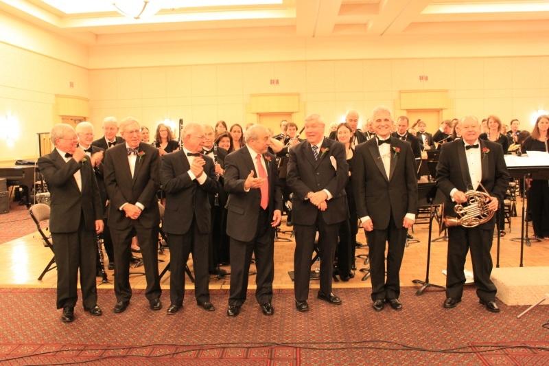 All Conductors for TMEA 2013 Concert