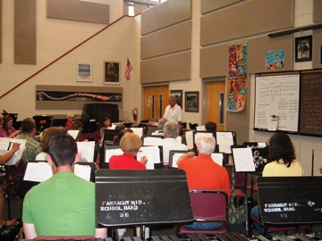 2008 Rehearsal at Farragut Middle