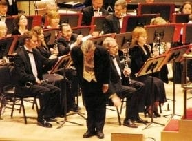 Dr. Tipps takes a bow at Carnegie Hall