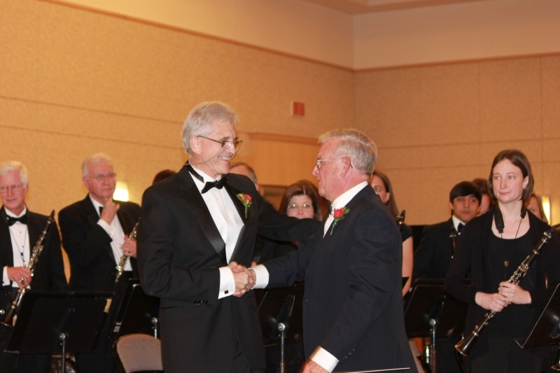 Dr. Ric Best and Dr. A. Wayne Tipps